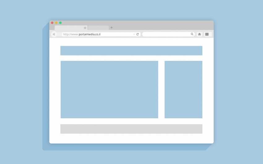 בניית תבנית אתר אינטרנט דפדפן FireFox